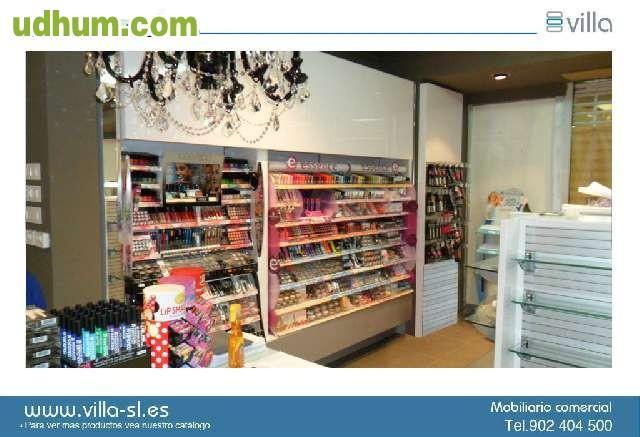 Estanterias comerciales mostradores - Estanterias para perfumerias ...