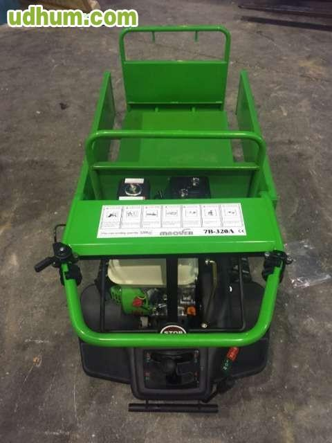 Carretilla de transporte oruga - Espacios verdes malaga ...