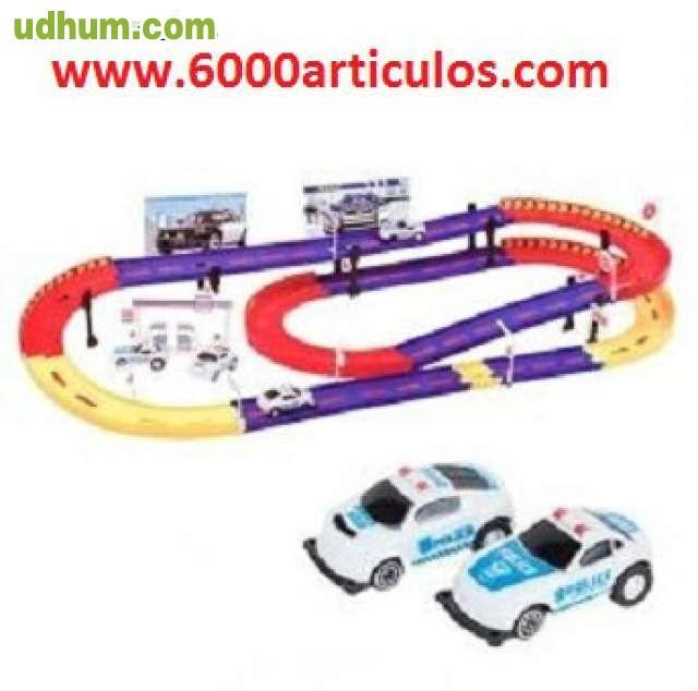 Circuito coches polic a - Alfombra circuito coches ...