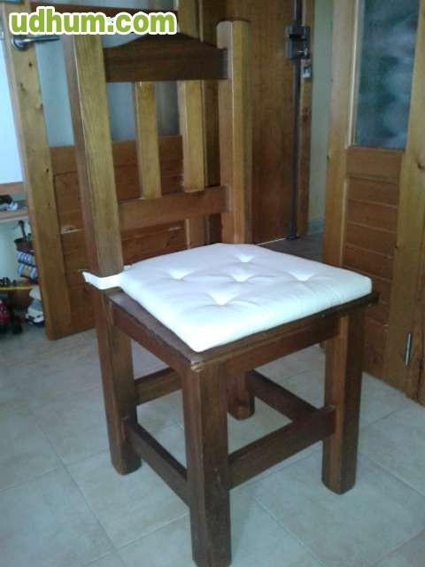 Sofa sillon mesa comedor 6 sillas for Silla sillon comedor
