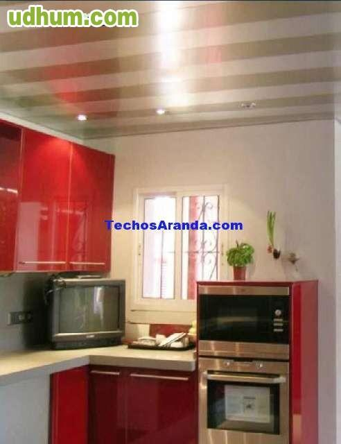 Techos de aluminio en ja n for Cocinas jaen fabrica