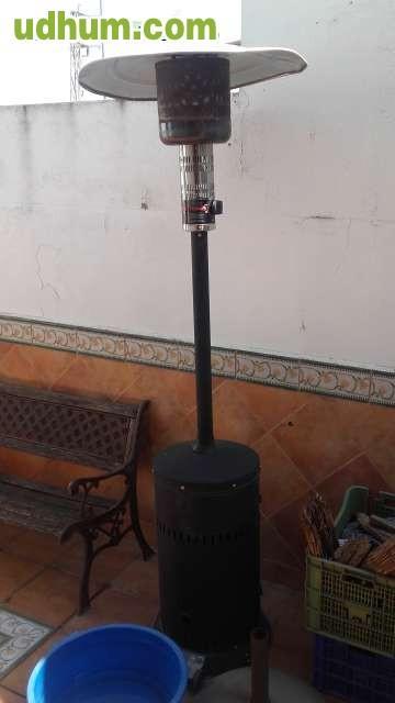 Estufa exterior de gas for Alquiler estufas exterior