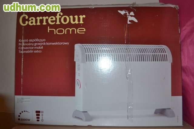 Estufa convector marca carrefour home - Emisor termico carrefour ...