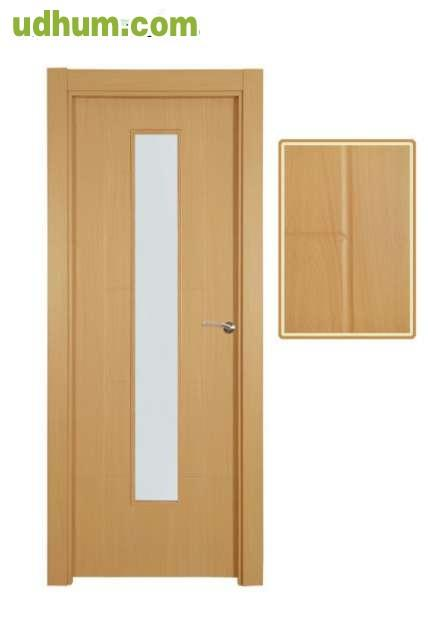 Puertas interior madera nuevas for Puertas acristaladas interior