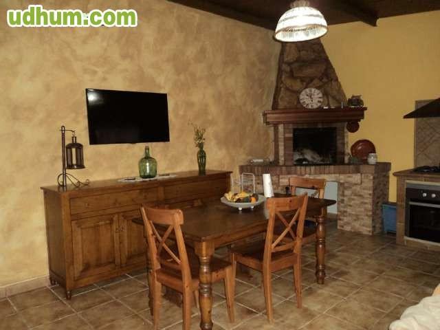 Casa de madera con terreno for Vendo casa madera