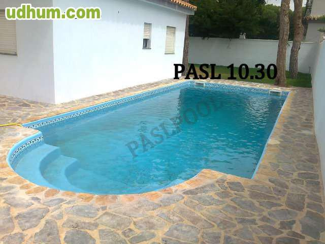 Paslpool piscinas de poliester 50 for Piscinas fabricantes