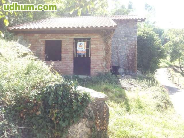 Casa de piedra en construcci n con finca - Construccion casas de piedra ...