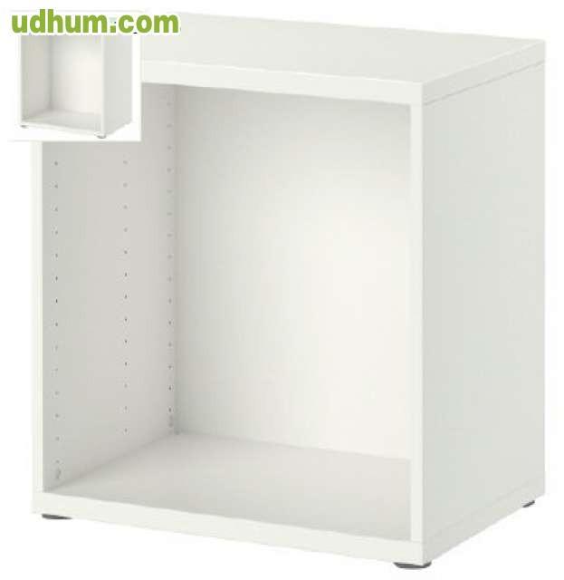 Mueble modular modelo besta blanco for Mueble modular blanco