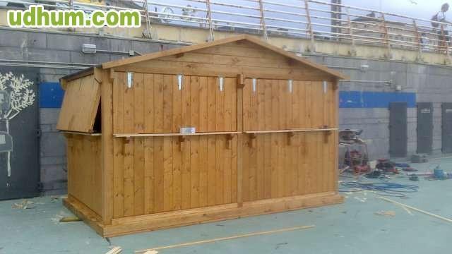 Fabricacion de chiringuitos for Fabricacion de bares de madera