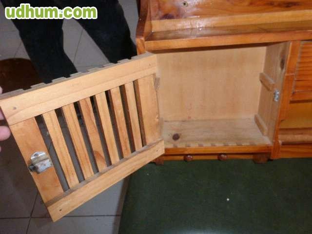 Mueble de madera de pino para cocina - Muebles madera pino ...