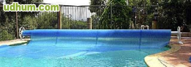 Lona termica de burbujas para piscinas for Burbuja piscina