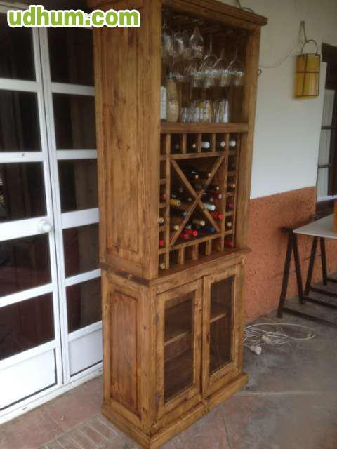 Botellero copero rustico - Botelleros rusticos ...