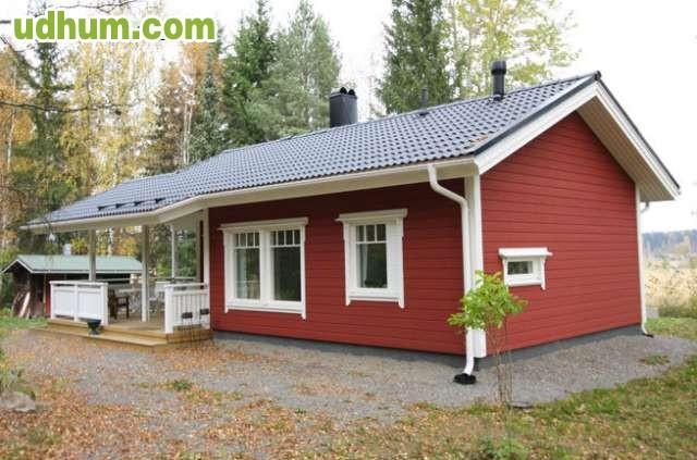 Pida informacion envio catalogo for Casas de madera canadienses
