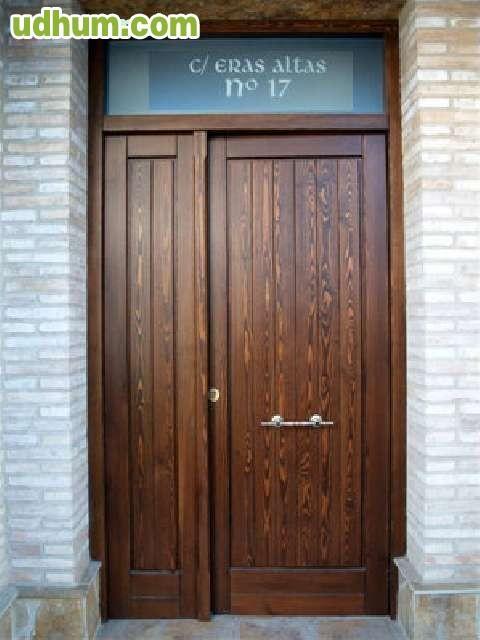 Puertas de calle madera nuevas - Puertas rusticas de exterior segunda mano ...