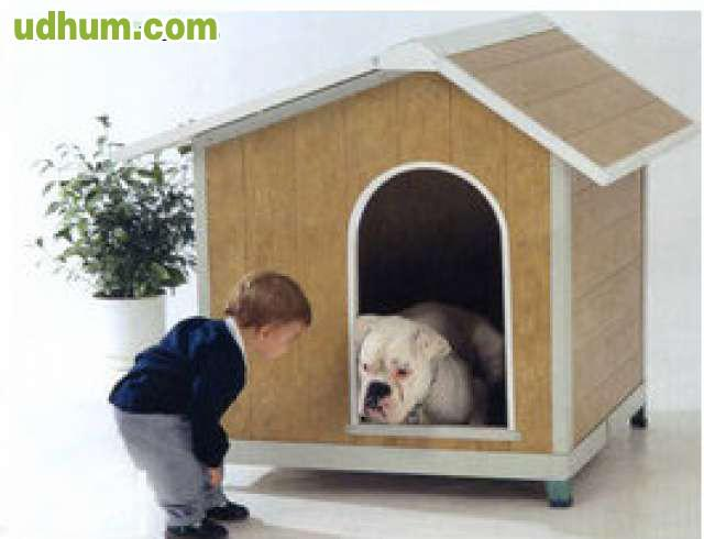 Caseta para perros pvc 4 for Casetas pvc baratas