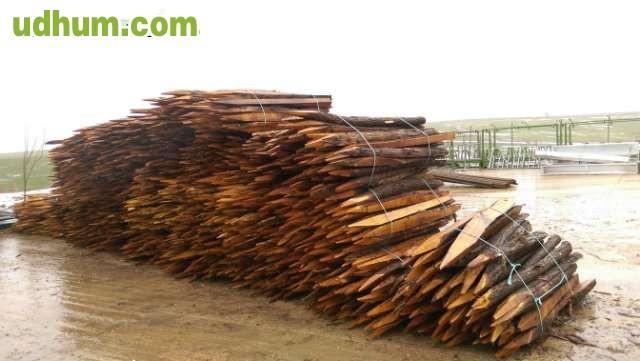 Estacas para cierres - Estacas de madera para cierres ...