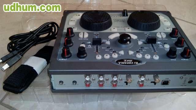 Hercules dj console mk2 mesa de mezclas - Mesas de mezclas para pc ...