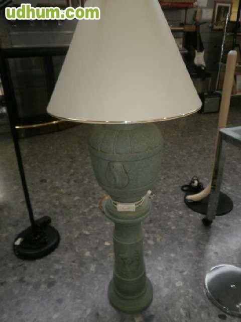 Lampara de pie en dos piezas egipcia - Piezas para lamparas ...