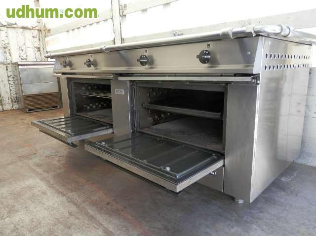 Cocina central fagor 8 fuegos for Cocina de gas de dos fuegos