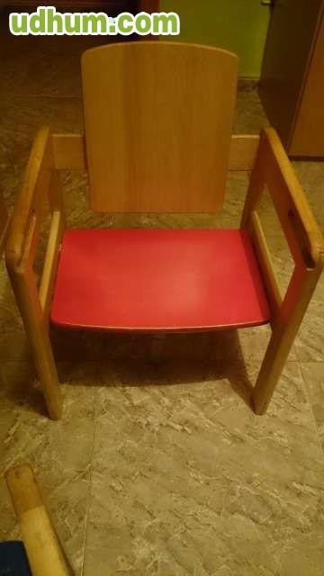 Trona de madera convertible mesa y silla - Trona de mesa ...
