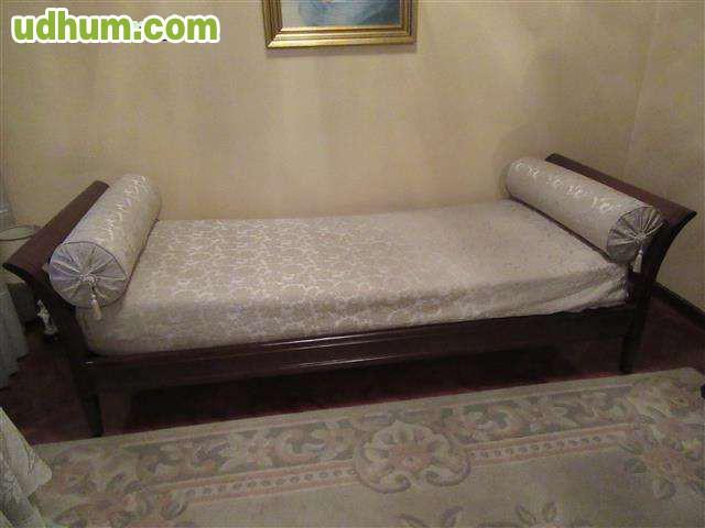 Div n cama barco con colch n - Cama tipo divan ...