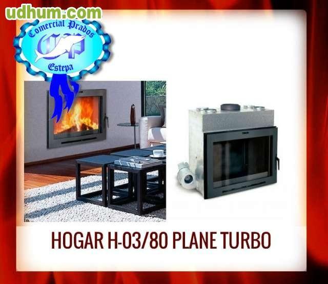 Hogar chimenea h 03 80 plane 2023405 - Milanuncios chimeneas de hierro ...