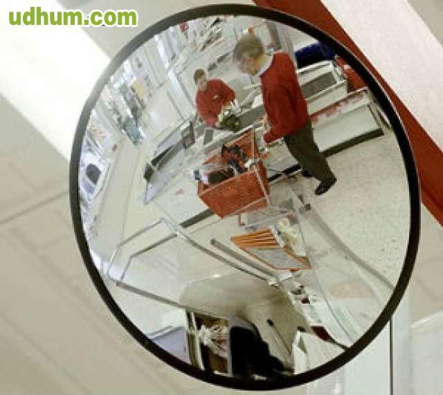 Espejos antihurto for Espejos para vigilancia