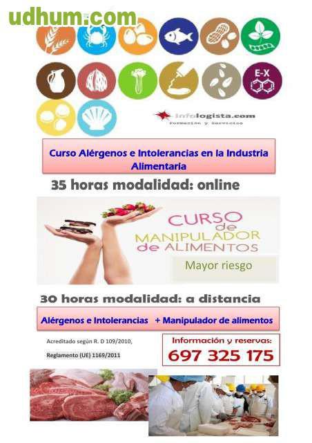 Curso alergenos manipulador alimentos 1 - Carnet de manipulador de alimentos homologado ...
