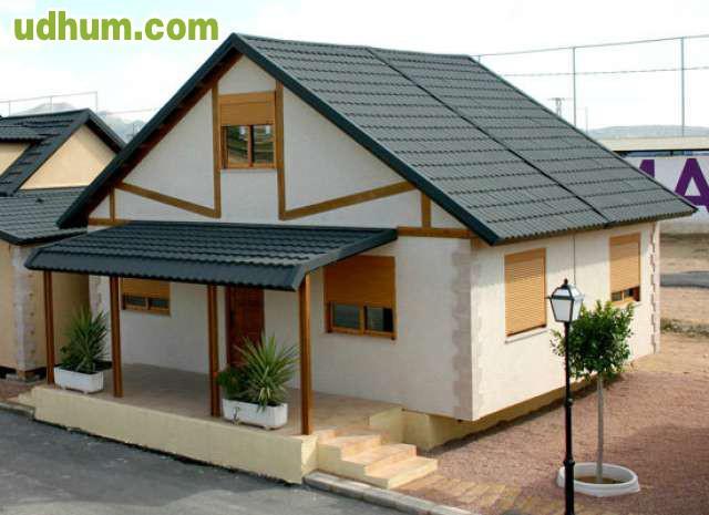 Casa prefabricada de piedra a medida for Casas prefabricadas piedra