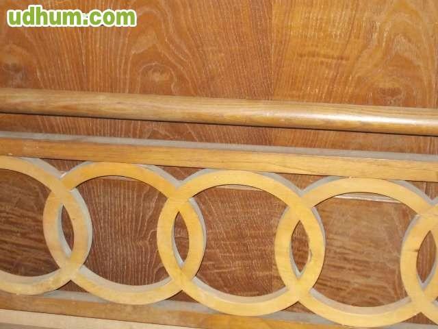Cama y armario madera de casta o - Madera de castano ...