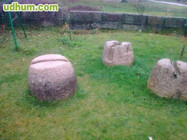 Piedra antigua decorativa jard n - Piedra decorativa jardin ...