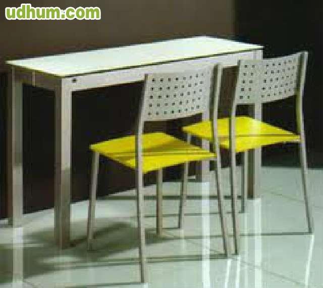 Liquidacion de mesa de cocina 2 sillas for Liquidacion mesas sillas jardin
