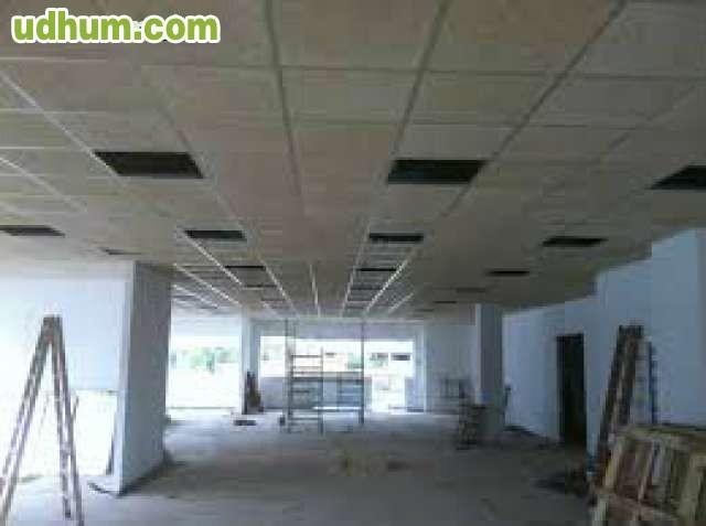 Reforma pladur insonorizaci n suelos - Placas de techo desmontable ...