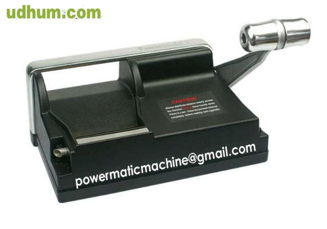 Maquina cigarrillos manual powermatic - Maquina uponor ...