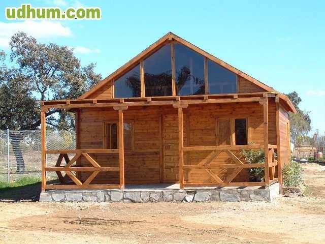 Casas de madera maciza econ micas 5x6 for Casas de madera economicas