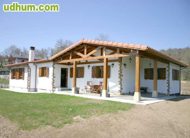 Casa prefabricada t pica vasca c ntabra - Vivir en una casa prefabricada ...