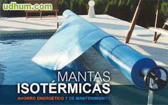 Enrollador piscina - Mantas termicas para piscinas ...