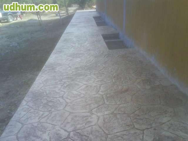 Pavimentos de hormig n impreso vertical - Hormigon impreso vertical ...