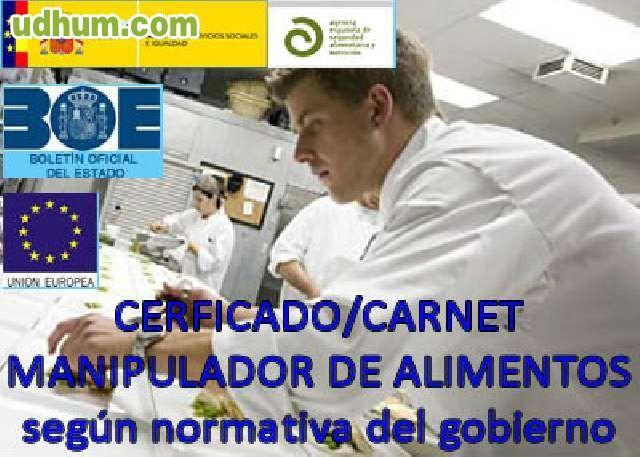 Certificado o carnet de manipulador - Certificado manipulador de alimentos gratis ...