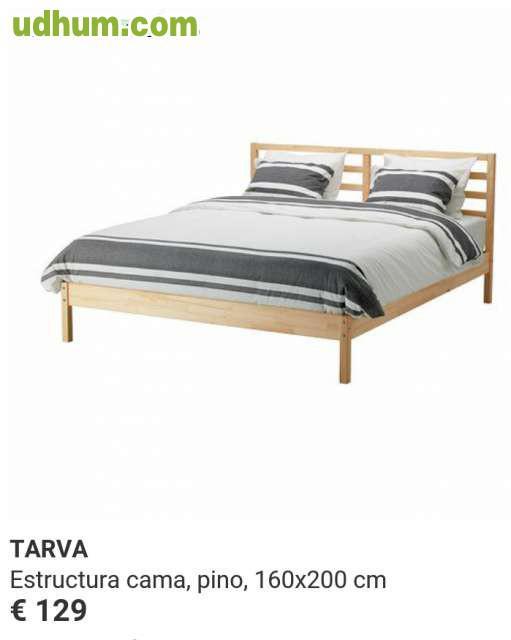 Cama de ikea 160x200 nueva for Ikea camas sevilla