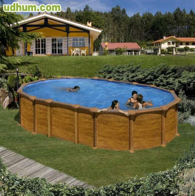 Piscinas desmontables y liner for Liner para piscinas desmontables