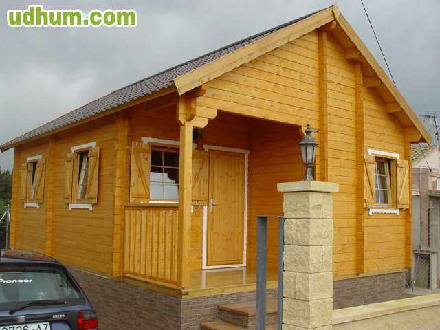 Se vende casa madera prefabricada 2hab - Casa de madera prefabricada ...