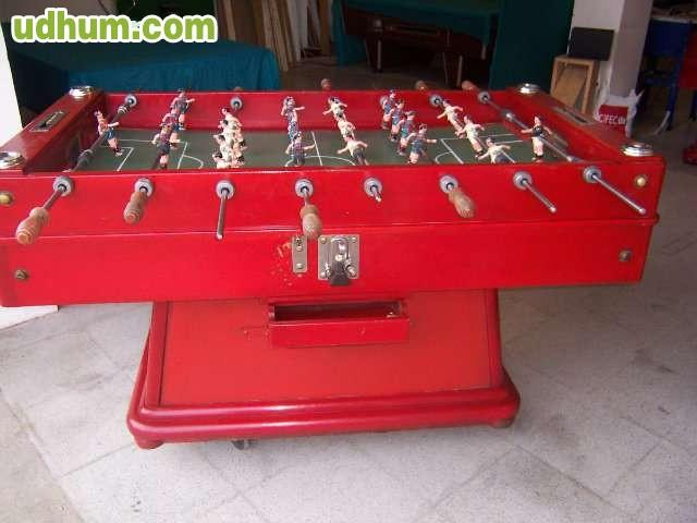 Se vende futbolin 4 for Futbolin madera bar