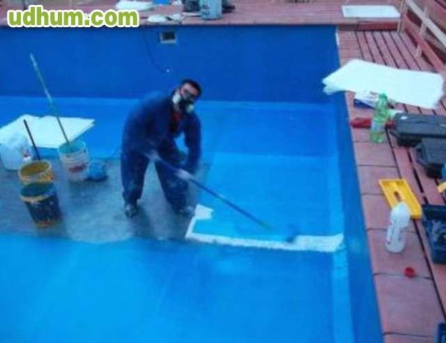 Recubrimiento de piscinas - Como poner fibra de vidrio ...