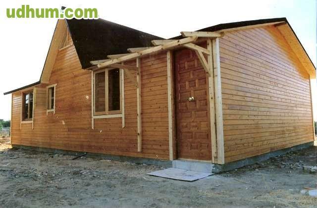Casas de madera tipo sandwich economicas - Casas de madera economicas espana ...