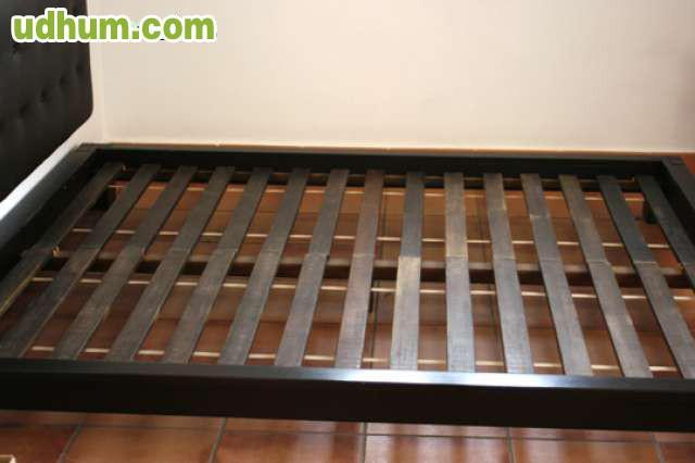 Habitacion cama tatami madera maciza - Colchon tatami ...