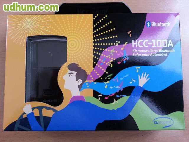 Manos Libres Autos Bluetooth Parlante Avantree Carga