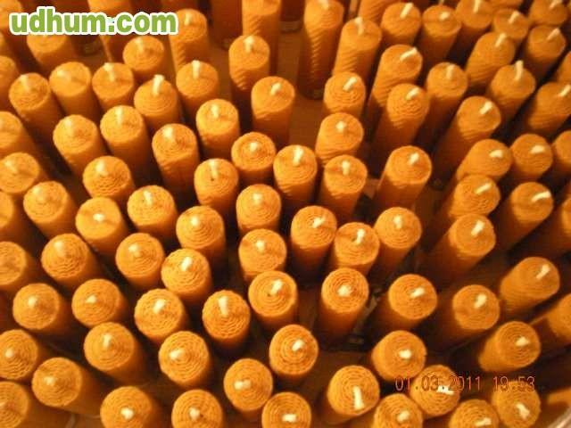 Velas de miel cera natural - Velas de miel ...