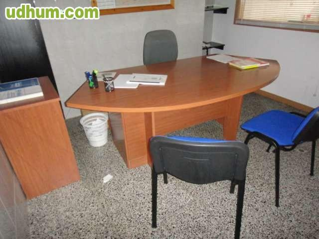 Mesa oficina y mesa auxiliar for Mesa auxiliar oficina