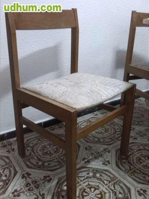 Oferta mesa 4 sillas for Ofertas de sillas de comedor